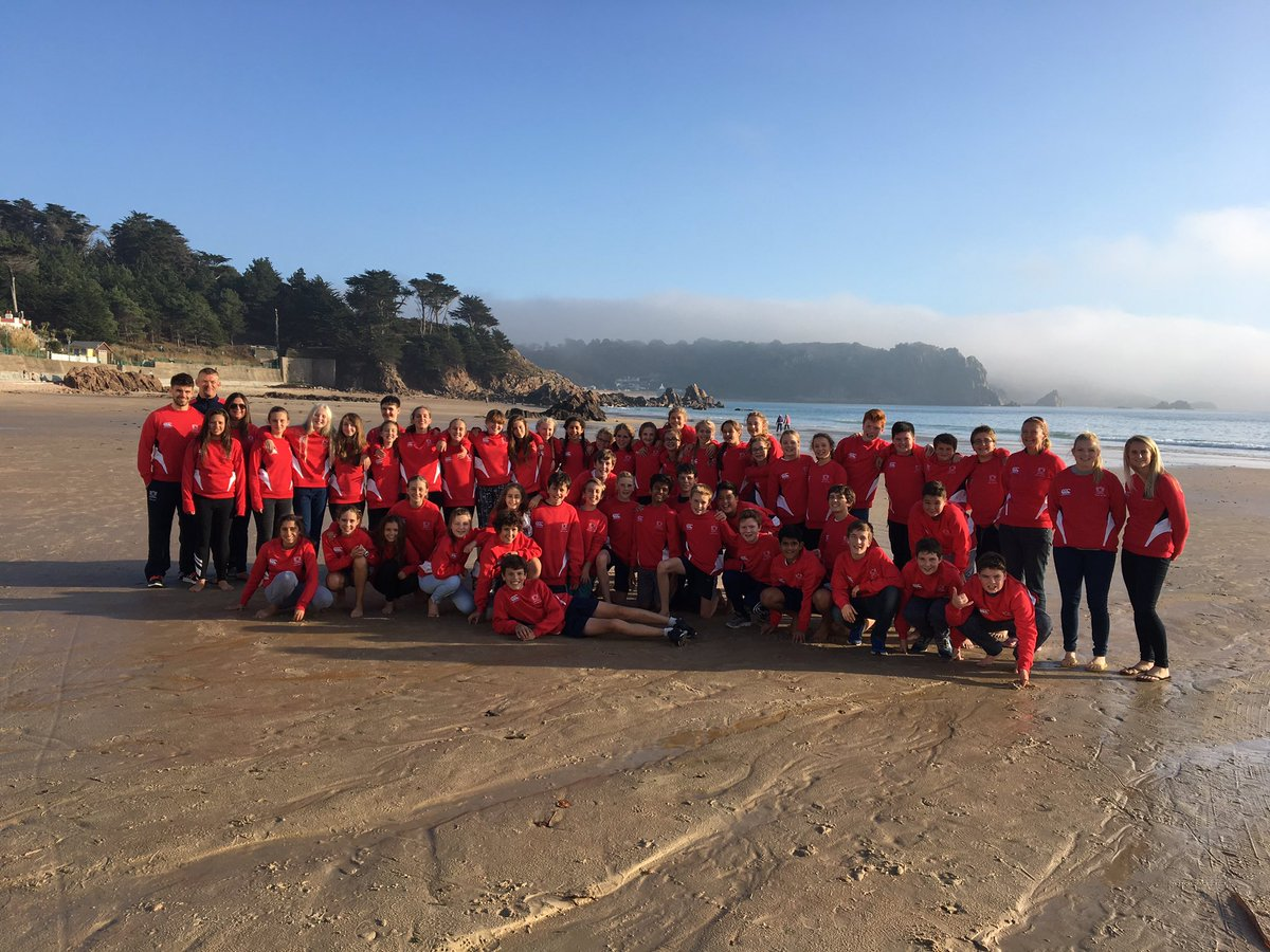 School sports tour to Jersey