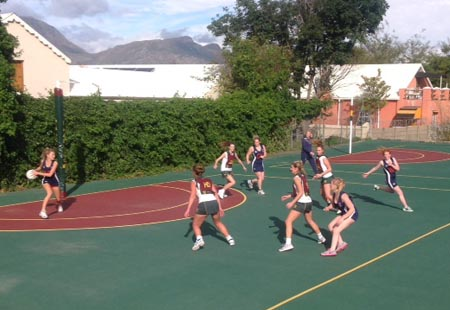 School netball tour to South Africa
