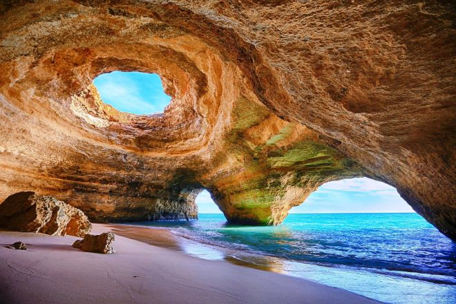 Sea Cave Algarve